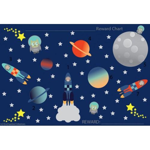 Free Owls In Space Reward Chart