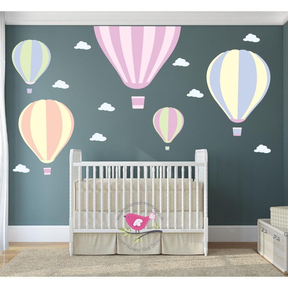 Hot Air Balloons Wall Art