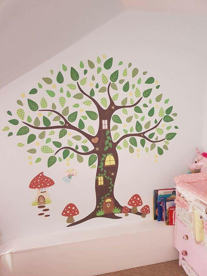 Fairy Folk Enchanted Tree
