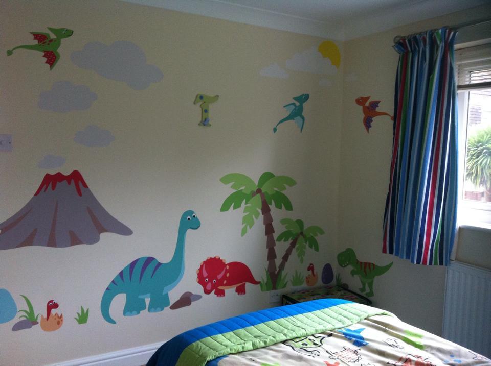 Dinosaur Nursery Wall Art