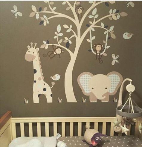 elephant and giraffe safari