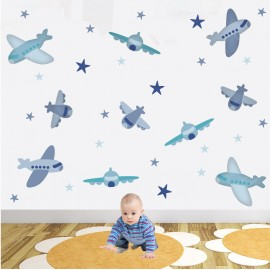 Aeroplane Wall Stickers for...