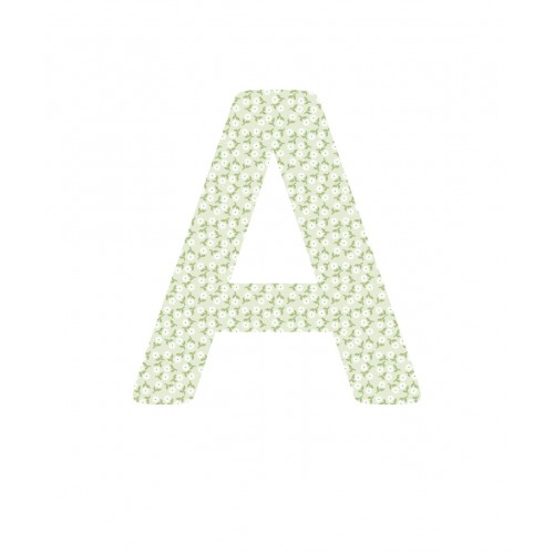 Daisy Chain Giant Fabric Letters