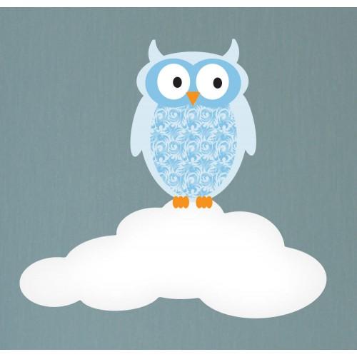 Magical Moon Amp Owls Luxury Nursery Wall Stickers
