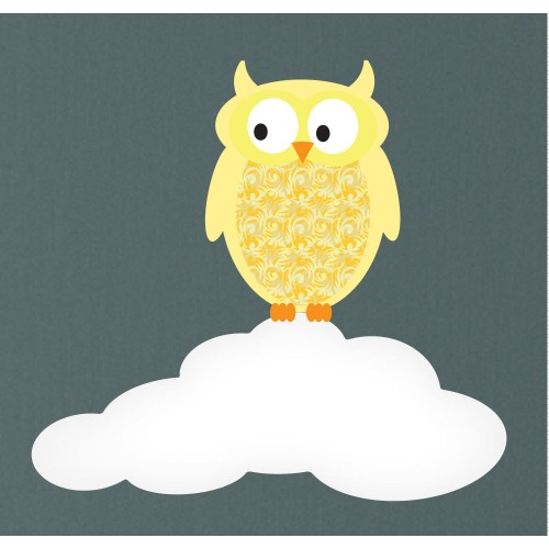 Magical Moon & Owls Luxury Nursery Wall Stickers