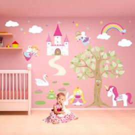 Fairy Princess Nursery Wall...