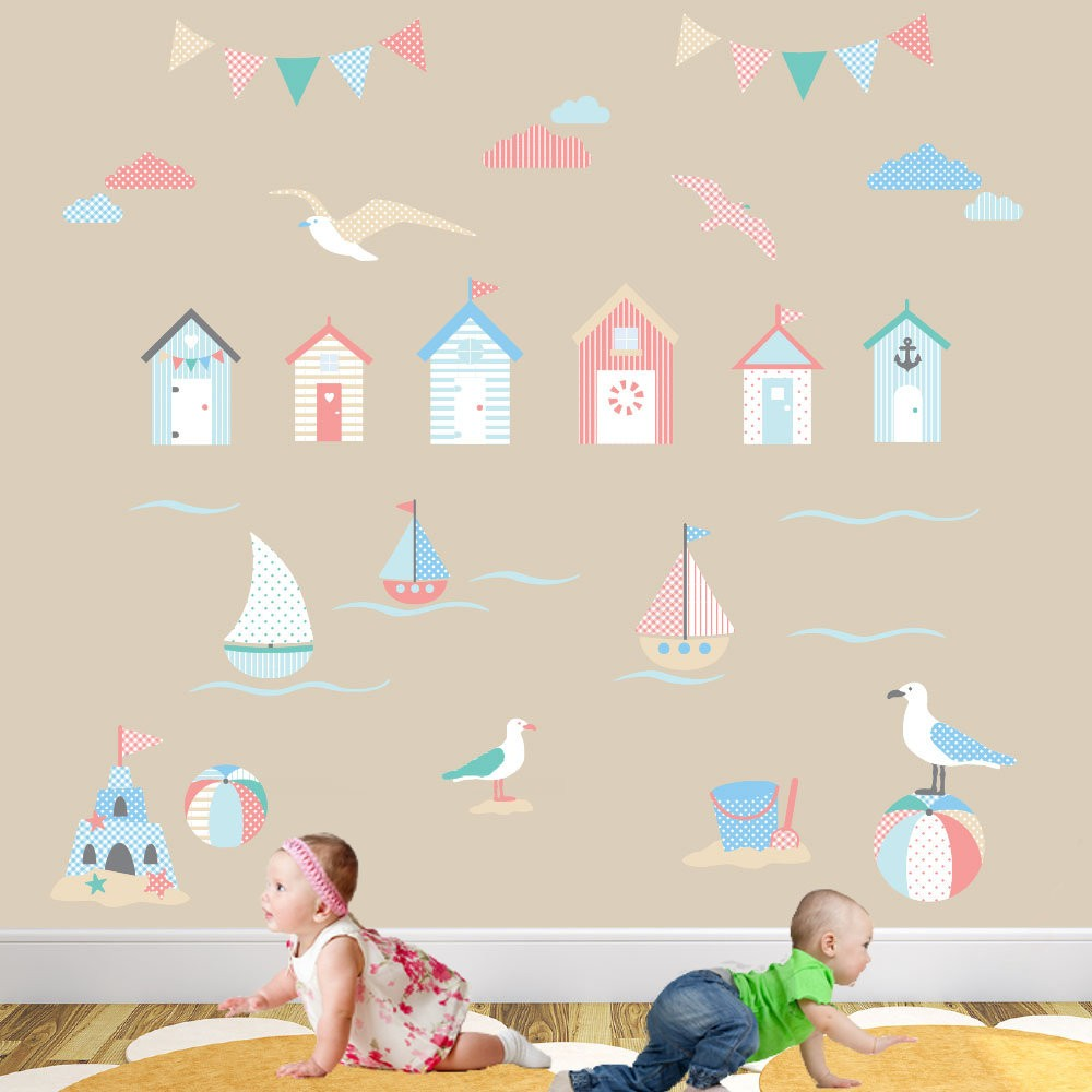 Beside The Seaside Nursery Wall Stickers