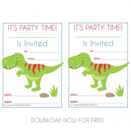 FREE Downloadable Party Invites Enchanted Interiors