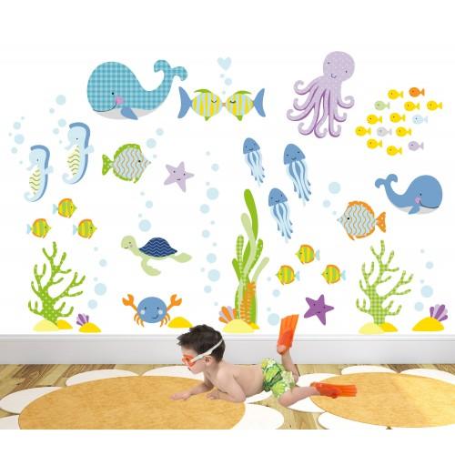 Ocean Nursery Wall Art Stickers