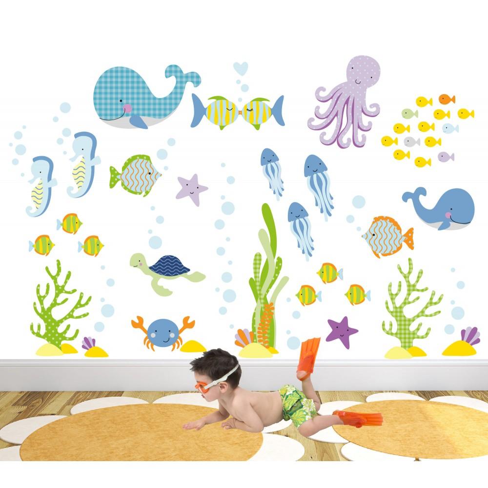 Ocean Nursery Wall Art Stickers Part 85