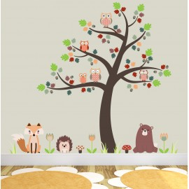 Woodland Animals Nursery Room Themed Accessories Ideal For