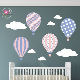 Girls Balloons and Clouds...