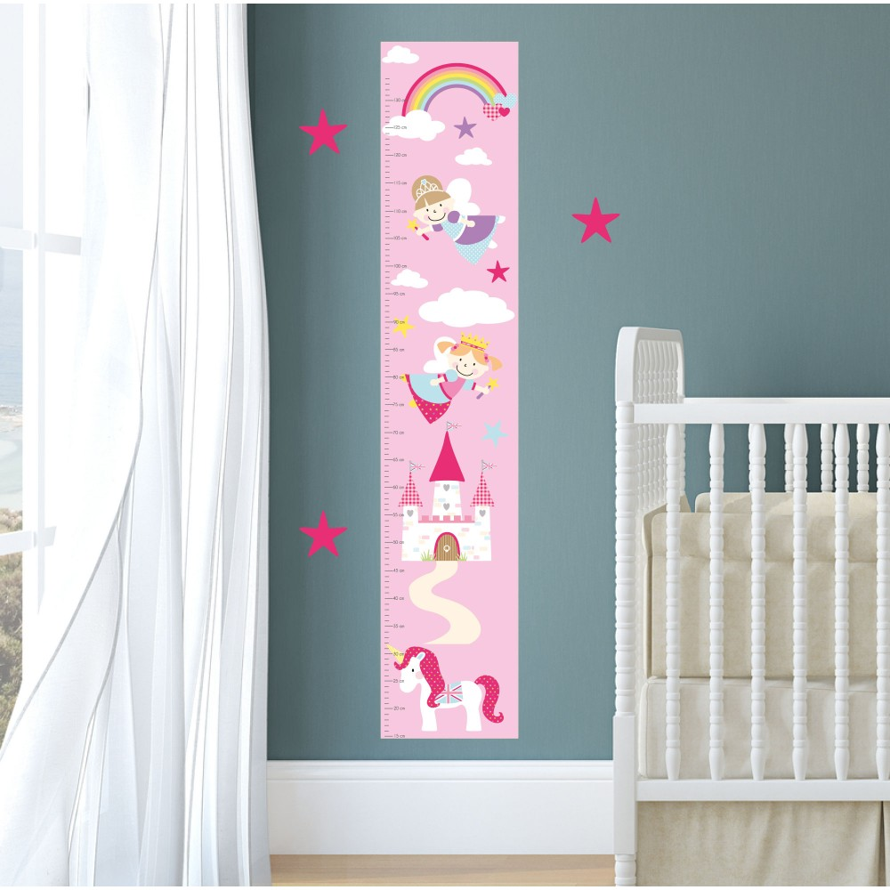 Fairy Tale Growth Chart Decal