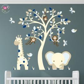 Elephant and Giraffe Cream...