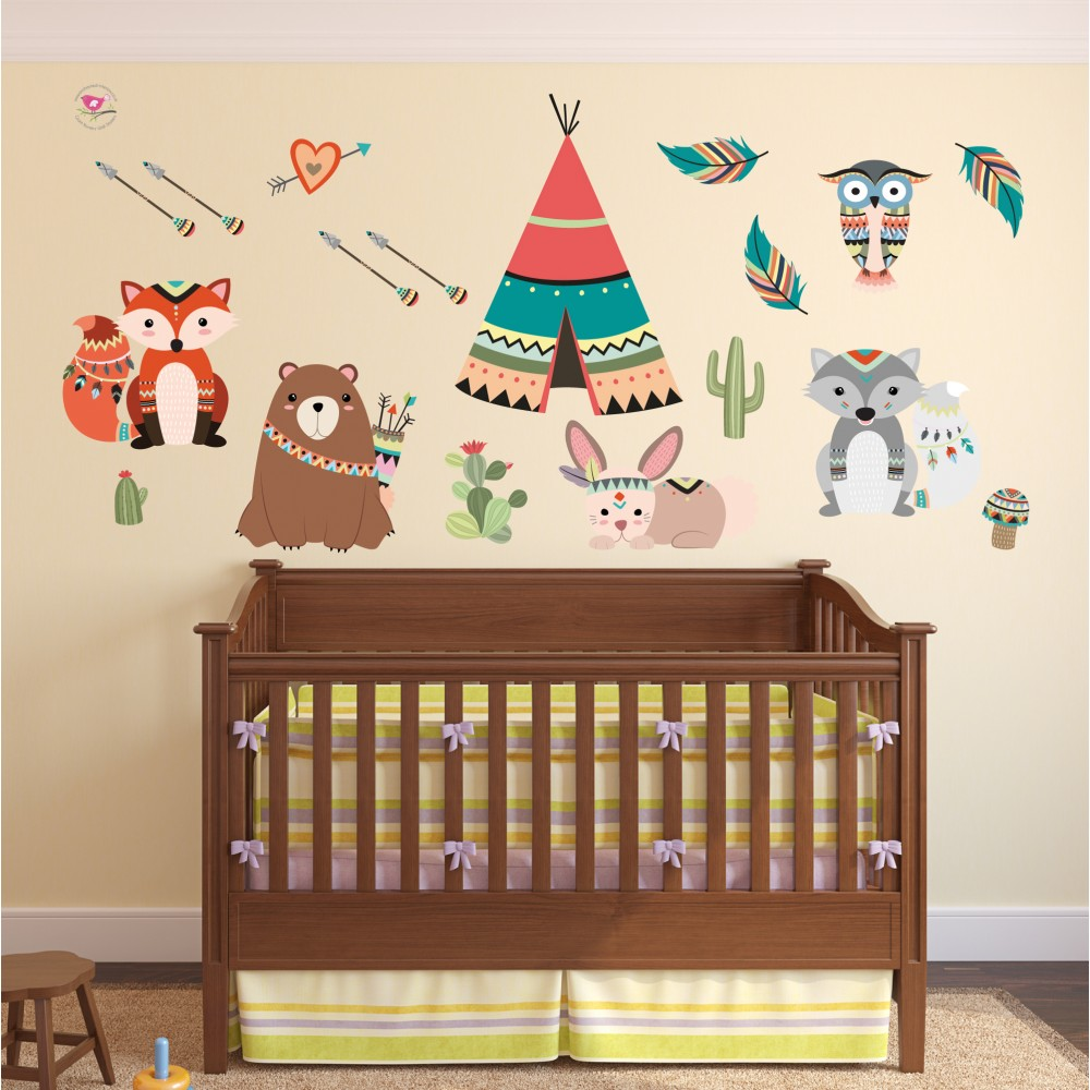 Wall Art Stickers For Nursery : Nursery stickers for walls uk peenmedia