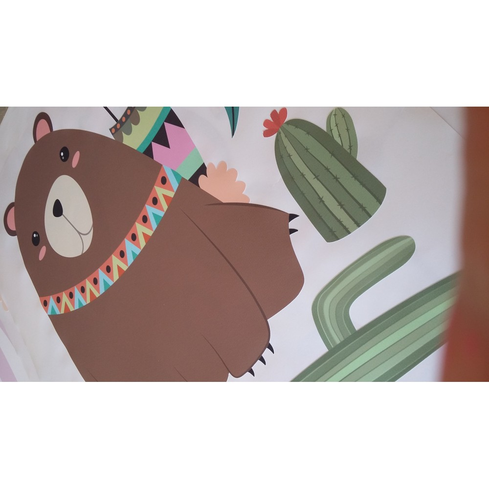 Aztec Tribal Nursery Wall Art Stickers