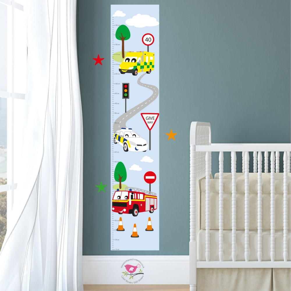 Emergency Services Kids Growth Chart