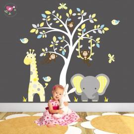 Elephant and Giraffe Safari...