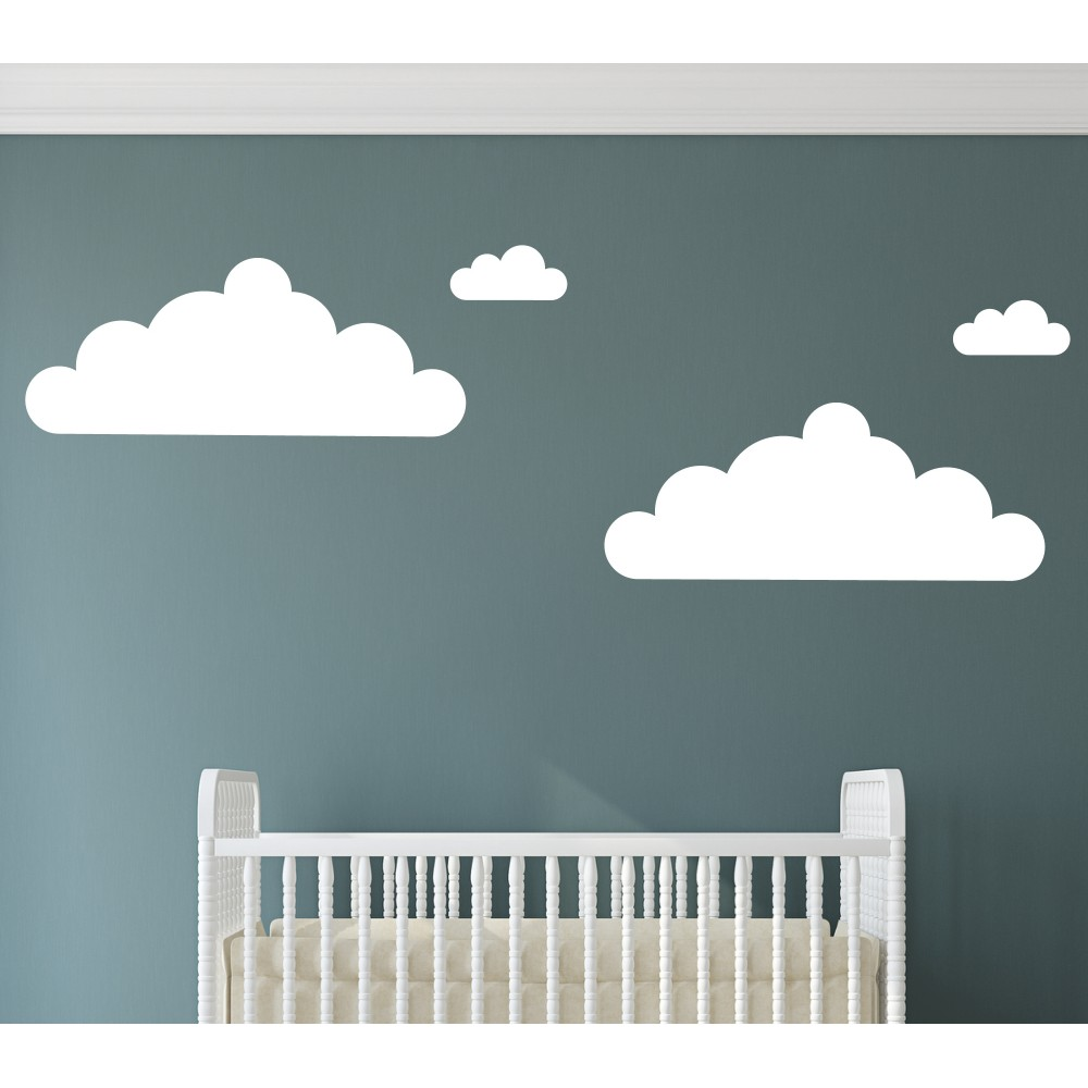 Large Cloud Wall Stickers