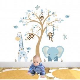 Boys Jungle Wall Stickers...