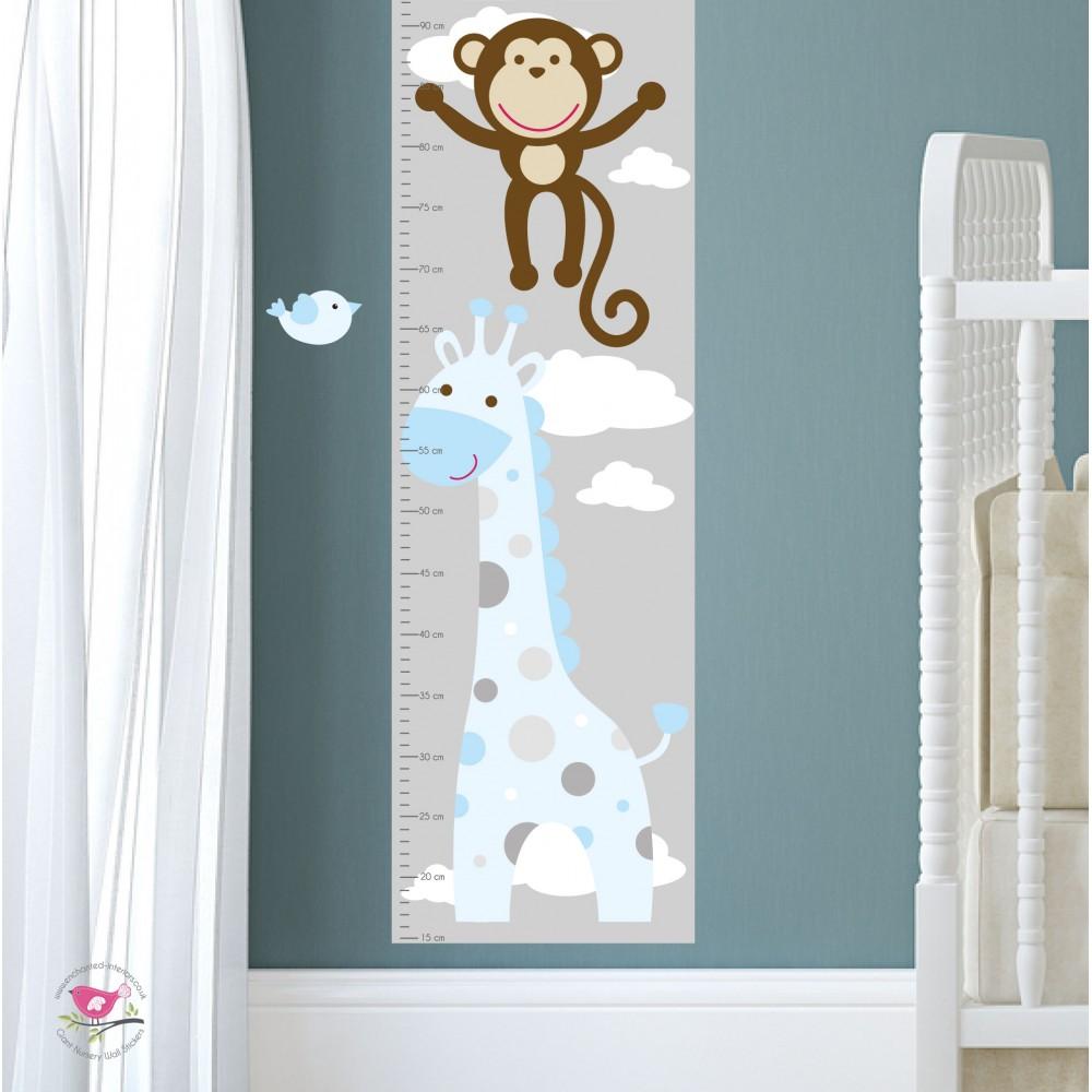 Jungle animal nursery wall art stickers next amipublicfo Gallery