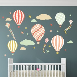 Balloons and Kites Wall...