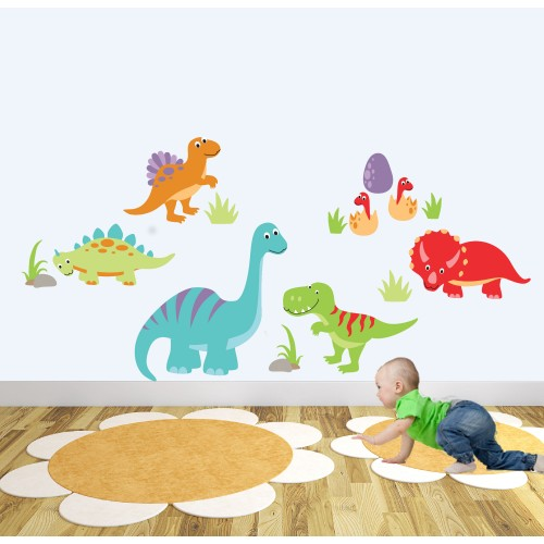 Just Dinosaur Nursery Wall Stickers