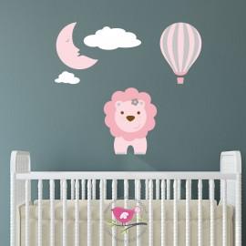 Lion, Moon, Hot Air Balloon...