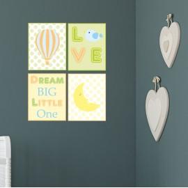 Unisex Nursery Wall Prints