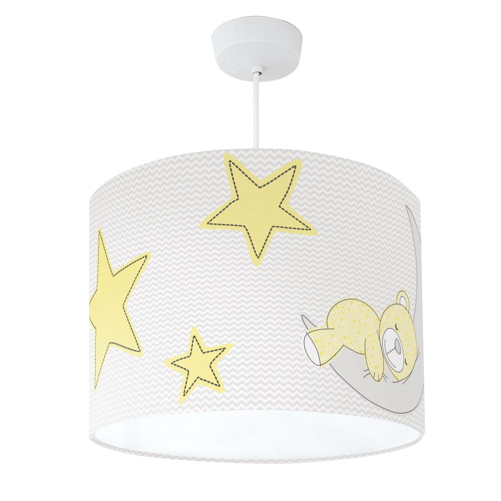 Teddy Bear Lampshade Yellow