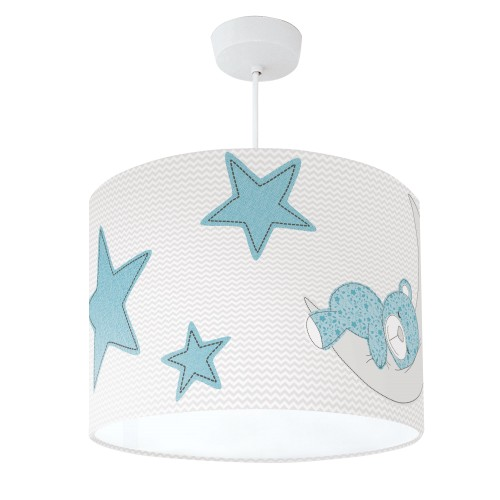 Teddy Bear Lampshade Turquoise