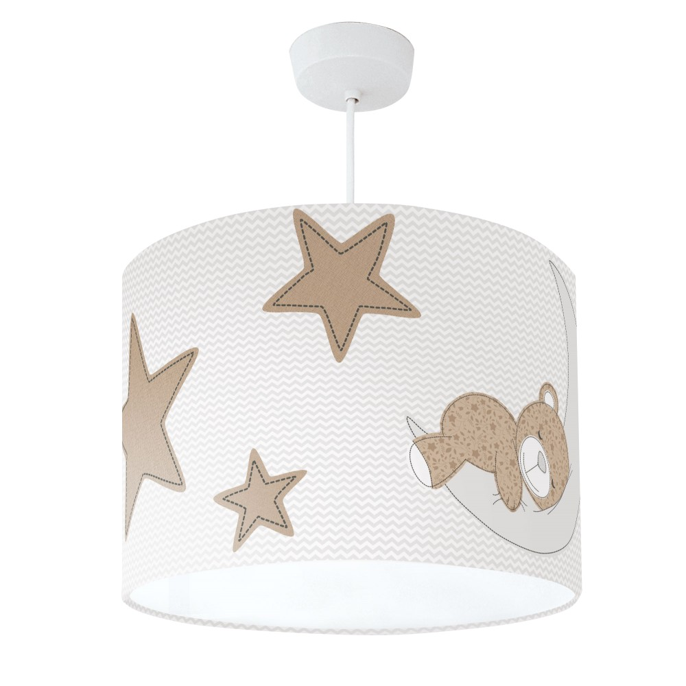 Teddy Bear Lampshade Brown