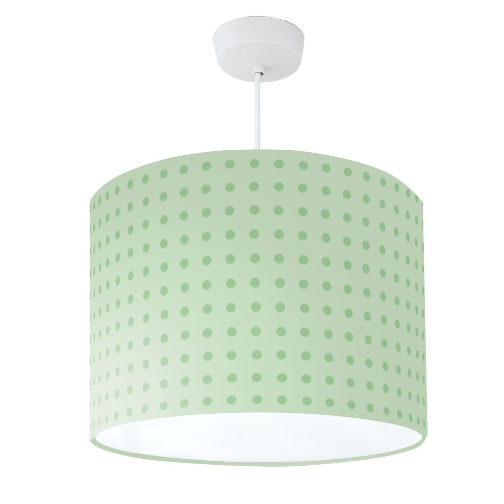 Lampshade Green Spot