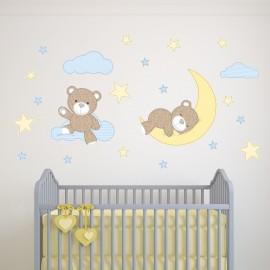 Teddy Bear Wall Stickers...