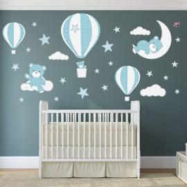 Teddy Bears & Balloons Wall...