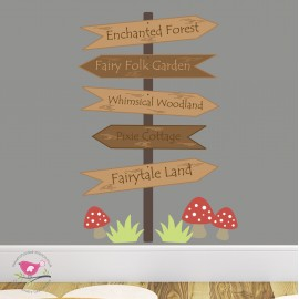 Enchanted Signpost Nursery...