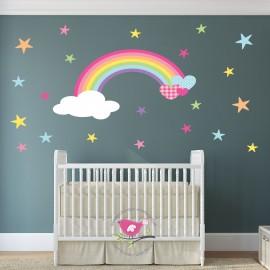 Rainbow Nursery Wall Sticker