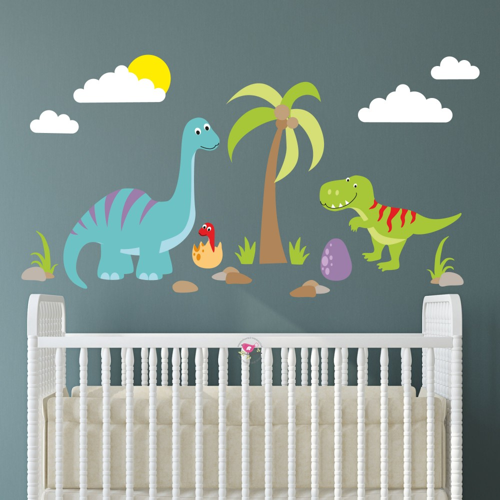 Dinosaur Nursery Wall Stickers