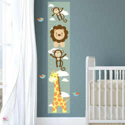 Jungle Peek a Boo Wall Stickers