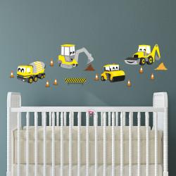 Digger Construction Nursery...