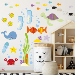 Fish Nursery Wall Stickers
