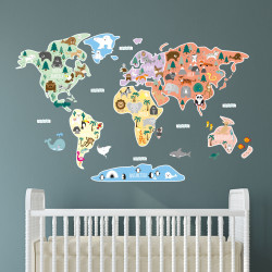 Child's Map of the World...