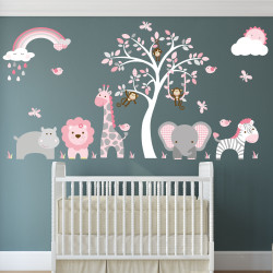 Jungle Wall Stickers,...
