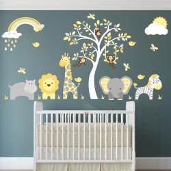 Jungle Wall Stickers,...