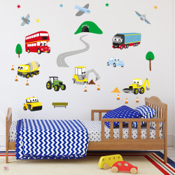 Motor Vehicle Wall Stickers...