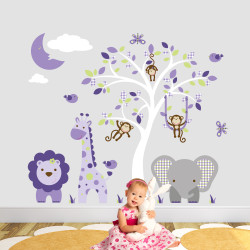 Jungle Wall Stickers with...