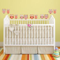 Owl Nursery Wall Stickers