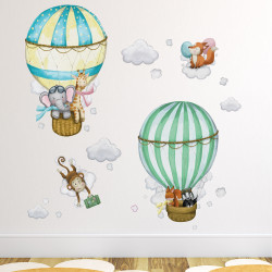 Deluxe Watercolour Hot Air...
