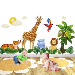 Safari Animal Wall Stickers...