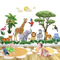 Deluxe Safari Animal Wall...